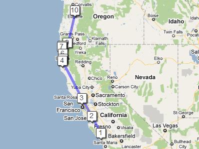 Map 11 Oct 2010